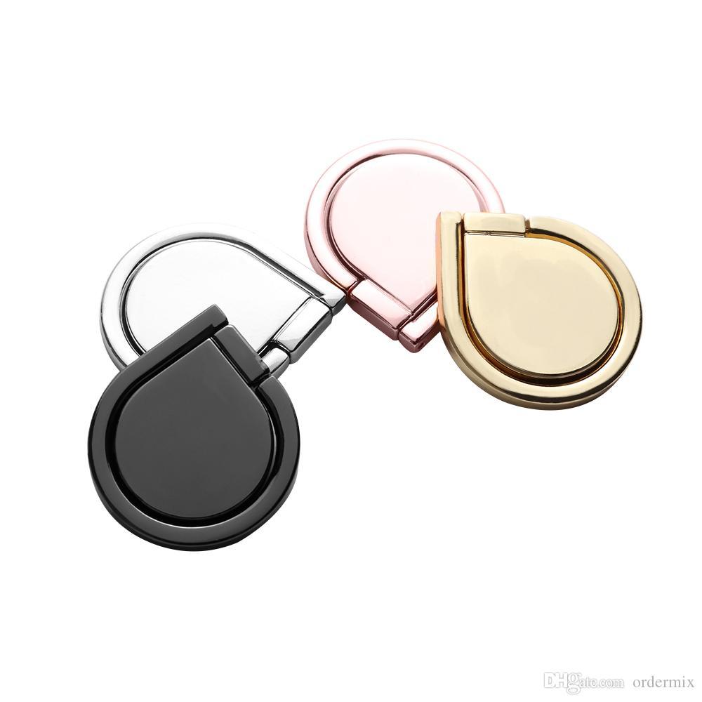 1 قطع العالمي ماجيك البنصر حامل 360 الدورية المغناطيسي قوس حامل حامل صالح لل سيارة قوس الهاتف الفاخرة حامل