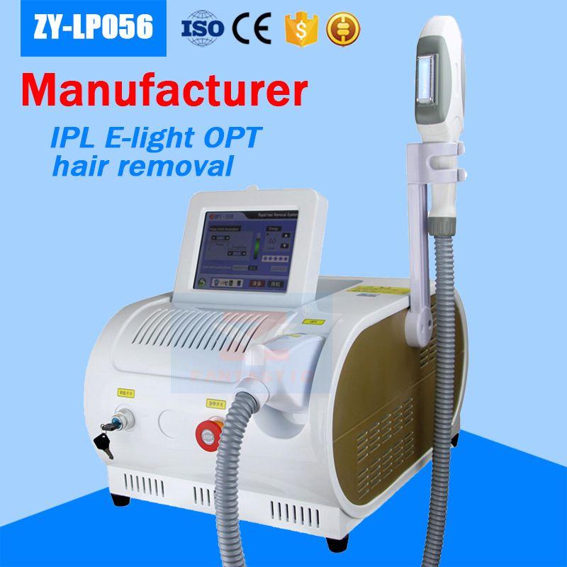 حار بيع! Elight تبييض البشرة وإزالة الشعر آلة IPL المحمولة SHR IPL إزالة الشعر بالليزر آلة العناية بالبشرة صالون المعدات
