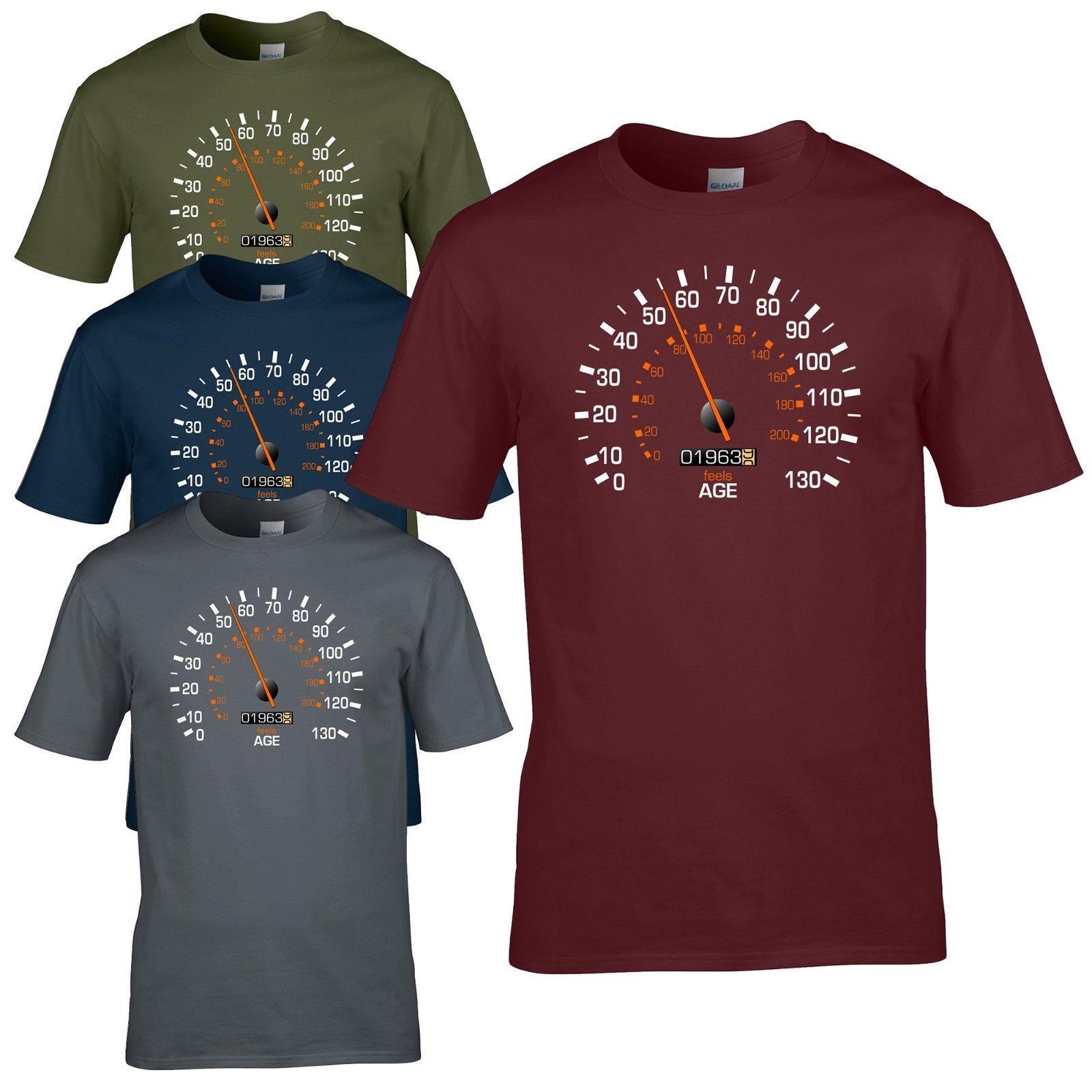 Speedometer 1963 55th Birthday T Shirt