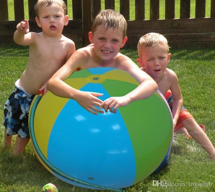 30 stücke Aufblasbare Wasserball Im Freien Sprinkler Sommer Aufblasbare Wasserspray Ballon Im Freien Spielen Im Wasser Wasserball