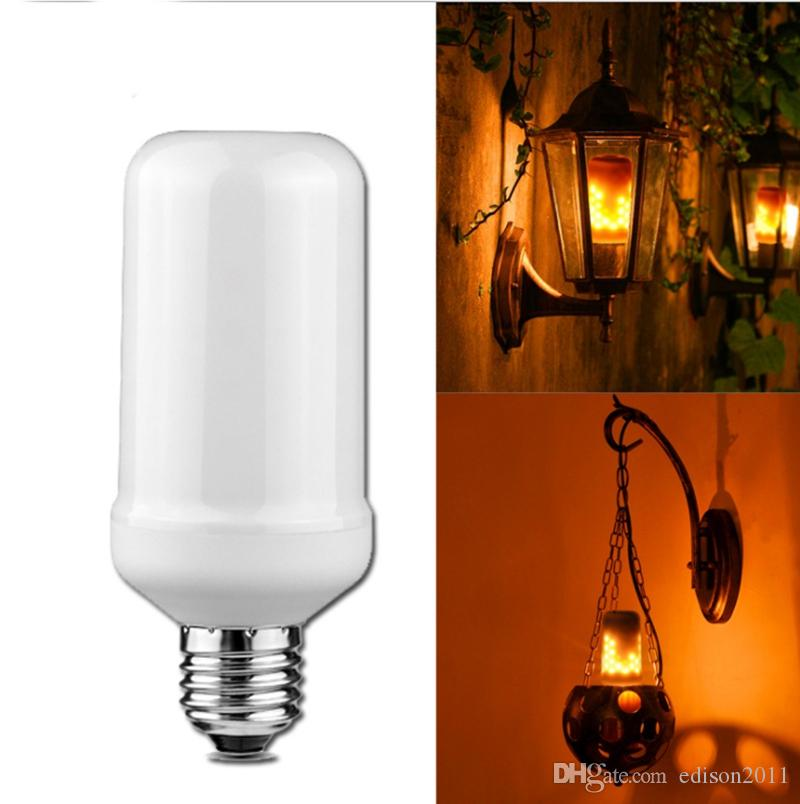 LED Red Candelabra Light Bulbs Salt Lamp 15 Watt Equivalent AIELIT 2W Mini E12 Candle Base Non-dimmable Home Decorative Lights C7 Night Light Bulb for Christmas String Lights 3-Pack