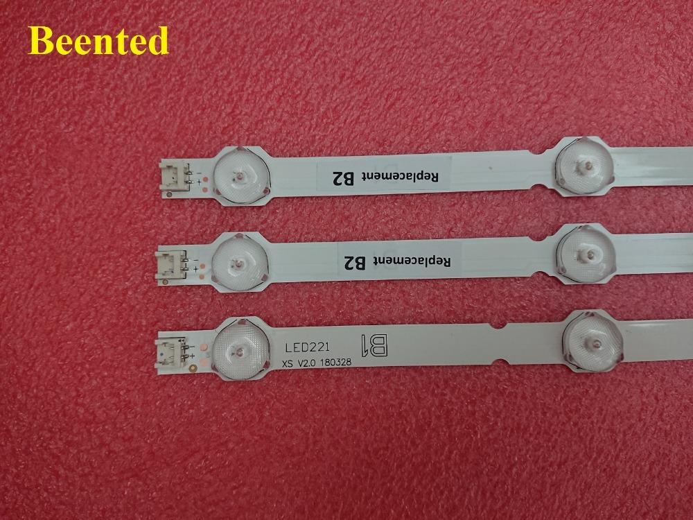 Бесплатная доставка новый 3 шт./компл. светодиодов подсветки полоска идеально совместимы для 32LN541V 32LN540V В1/В2-тип 6916L-1437A 6916L-1438A LC320DUE SF по Р1
