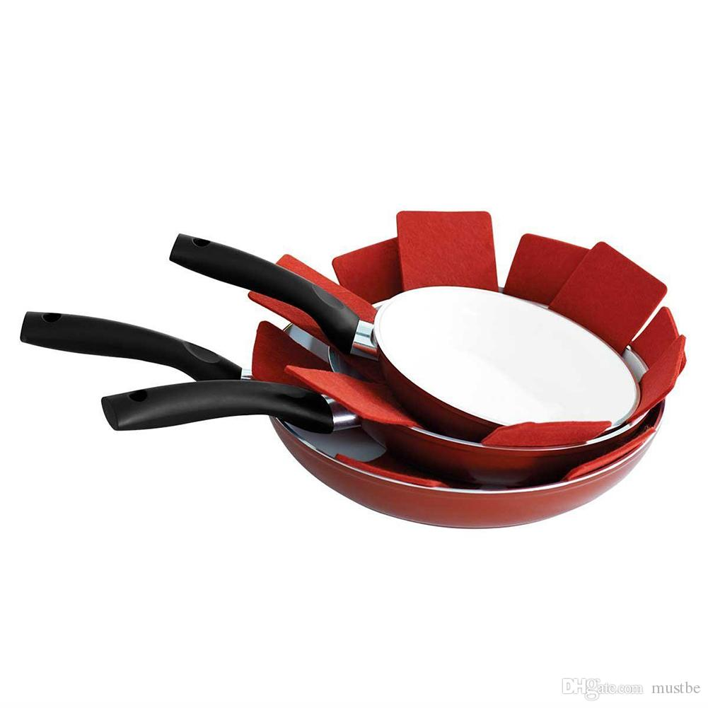 Pan Protectors Pot Pad Table Mat Placemat Cup Coasters Heat-resistant Non-woven Cloth Home Decors DIY Size