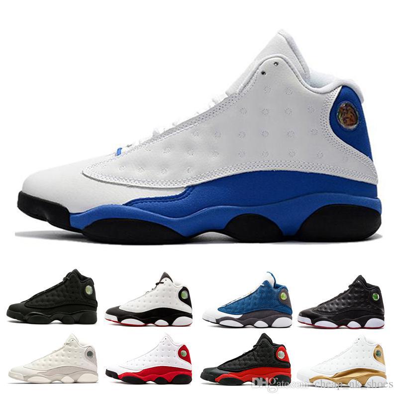 Klasik 13 WMNS Phantom erkekler Basketbol ayakkabı O Got Oyunu Irtifa Siyah Kedi Chicago Hyper Kraliyet Aşk Saygı 13s Sneaker spor ayakkabı yetiştirdi