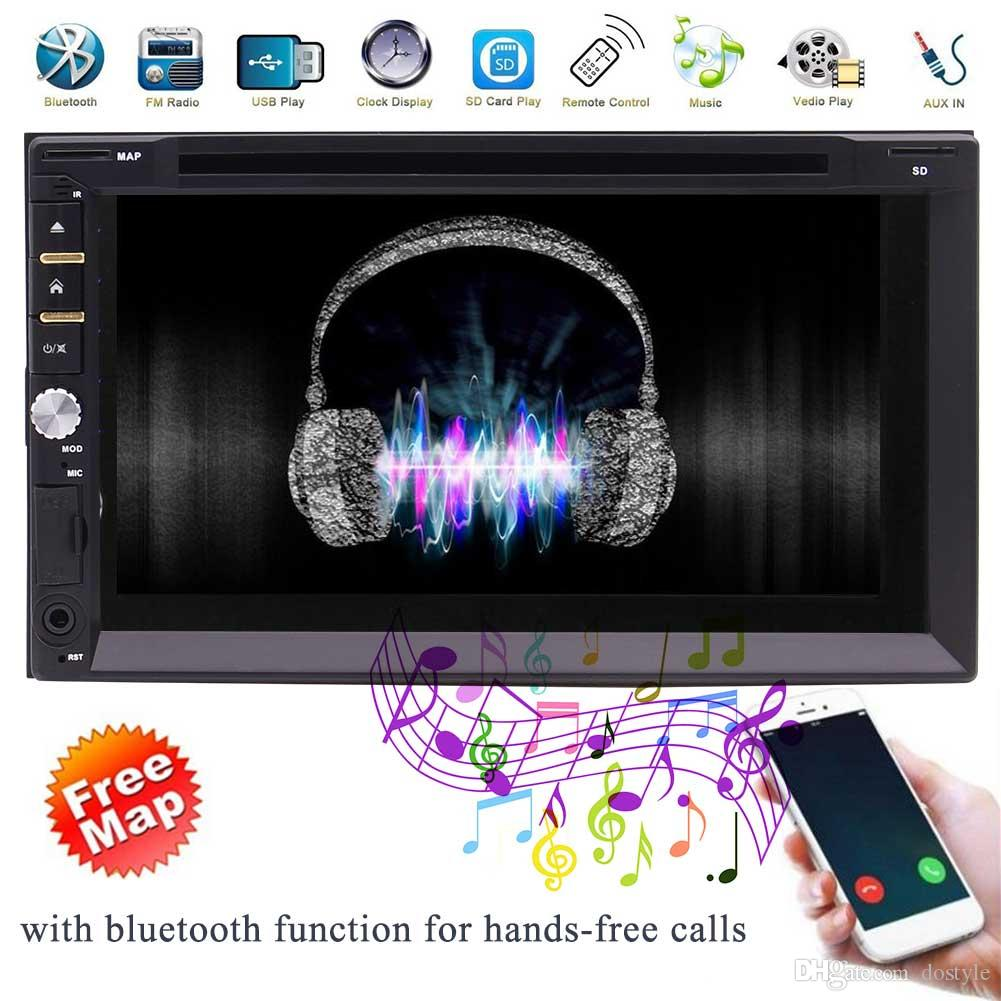 Cool WIN8 3 UI opzionale Touch Screen da 7 pollici Multimedia Double 2 Din Car DVD Stereo CD Player Unità di testa Navigazione GPS