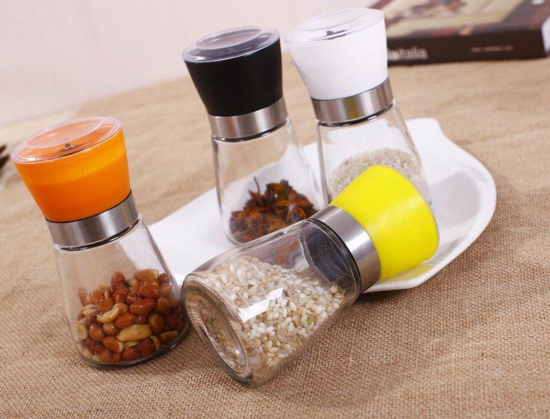 Manual Pepper Grinder Kitchen Tool Housewife Seasoning Bottle Condiment Bottles
