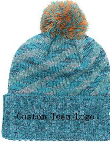2019 Autumn Winter hat men women Sports Hats Custom Knitted Cap Sideline Cold Weather Knit hat Soft Warm Dolphins Beanie Skull Cap