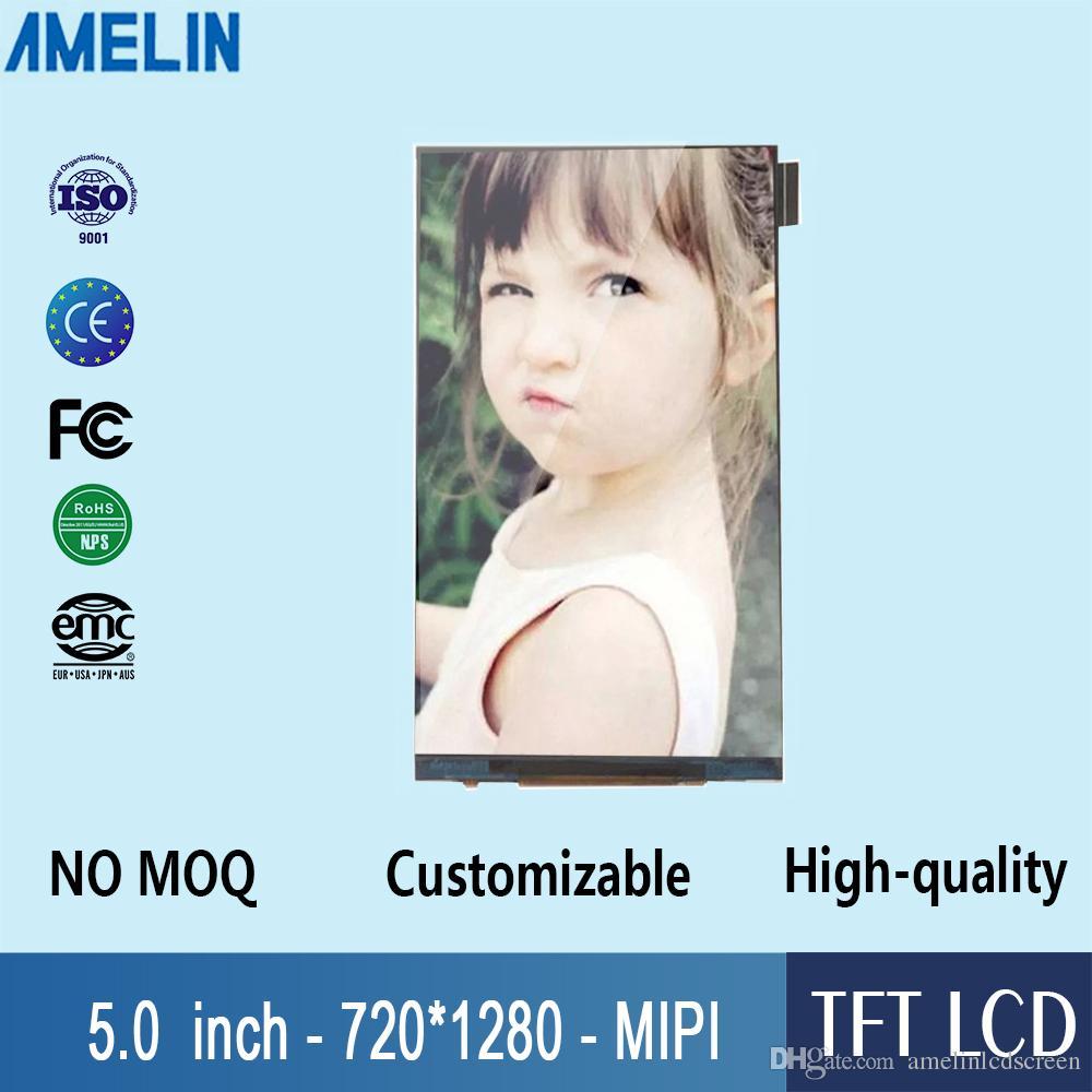 5 pollice 720 * 1280 TFT LCD Modulo Schermo con IPS angolo di visione e interfaccia MIPI Display Uso Per raspberry pi
