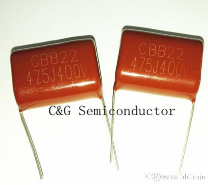 10PCS CBB 475J 400V 4.7UF 475 condensador de película metalizada