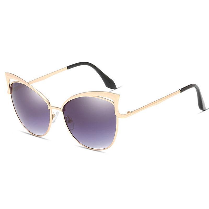 Occhiali da sole per le donne di lusso delle donne di Sunglass specchio di alta qualità Occhiali da sole delle signore di modo oversize Sunglases Occhiali da Sole 9C2J3