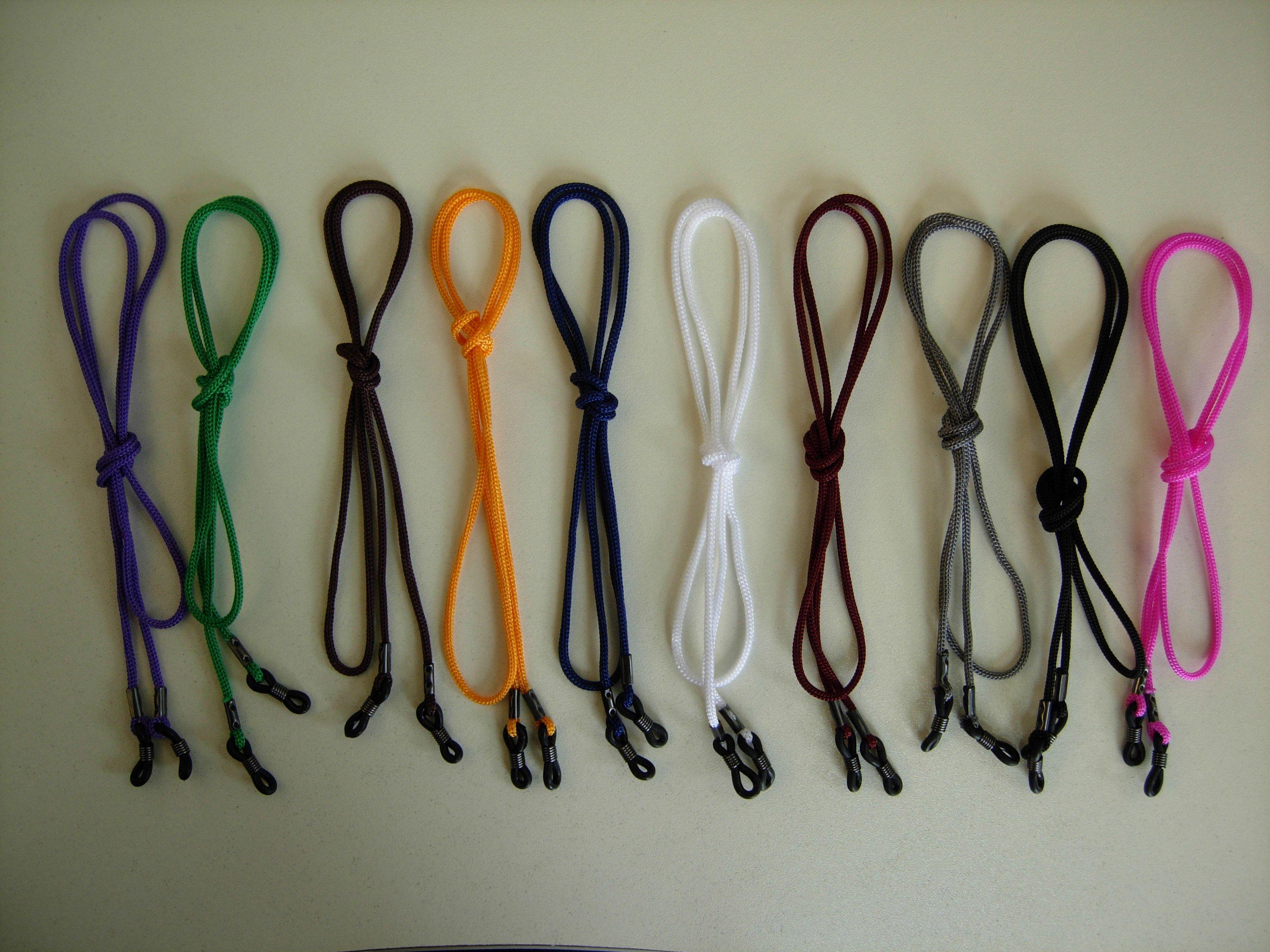 barato clássico nylon cordão corda cordão óculos corda retificador de óculos titular cordões cordões com durável silicone borrachas