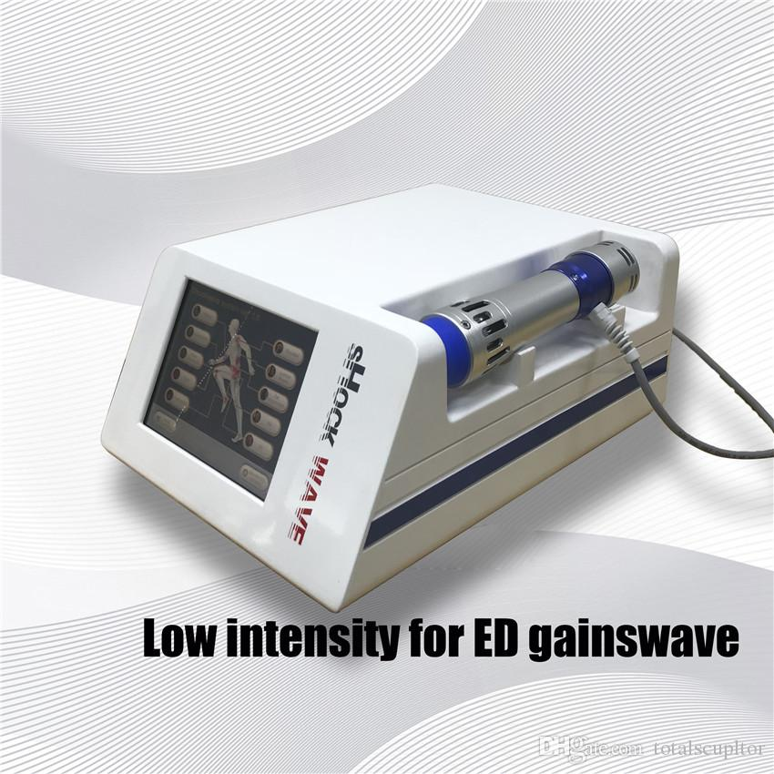 Dispositivo portátil de terapia de ondas de choque para ortopedia / máquina de baja intensidad acústica ESWT para la disfunción eréctil