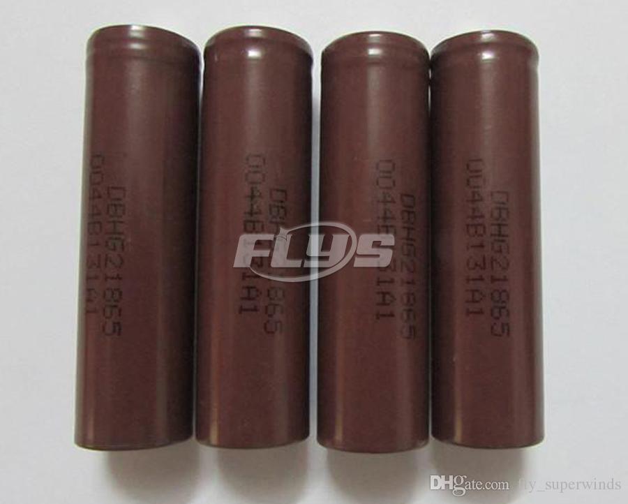 18650 akku 3000 mah hohe qualität hg2 35a max wiederaufladbare lithium-batterien für lg zellen fit vape box mod fedex