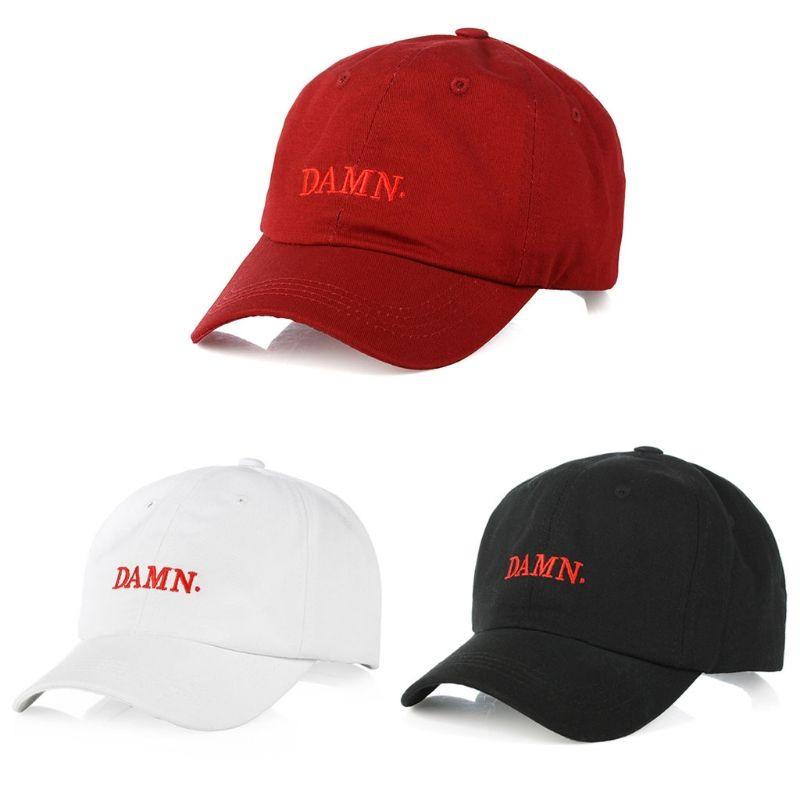 KLV لعنة جديدة مطرزة قبعة بيسبول Snapback قبعة القطن قبعة أبي قابل للتعديل