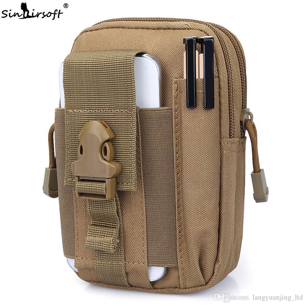 Tactical Waist Belt Bum Bag Military Molle Pack Pouch Fanny Phone Pocket Case