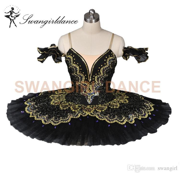 Free shipping black/red Sleeping Beauty Classical ballet tutu professional adult ballet tutu girlsBT8941