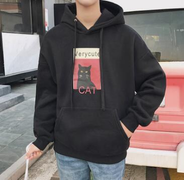 Men's fashion jacket, long sleeved T-shirt, handsome fashion in autumn