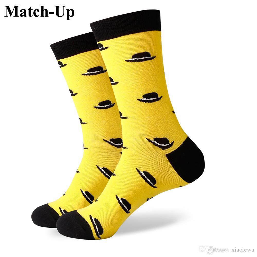2016 nouveau style tous les hommes de coton chaussettes colorées marque homme chaussettes, chaussettes hommes, chaussette de coton Livraison gratuite 385