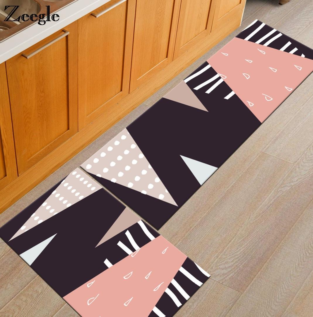 Zeegle Welcome Doormats Living Room Carpets Bathroom Bath Mat Anti Slip  Sofa Table Floor Mats Bedroom Bedside Mats Kitchen Rugs Cushions For  Outdoor ...