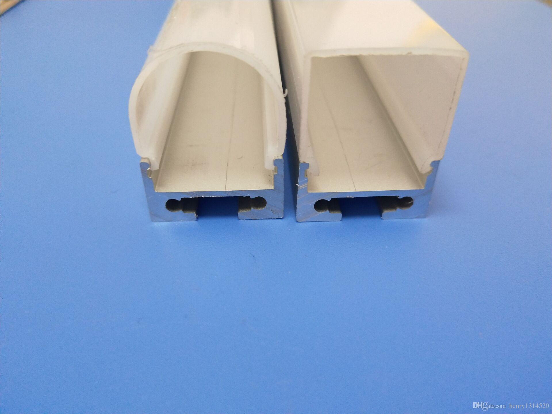 Il profilo di alluminio dell'estrusione principale vendita calda di trasporto libero per la striscia flessibile 2835/5050/5630 2m / pc 60m / lot