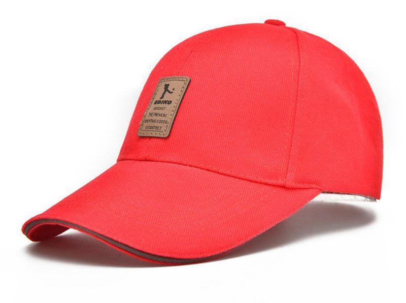 2018 casquette de baseball hommes casquette réglable casquettes de loisirs occasionnels couleur unie mode Snapback Summer Fall chapeau