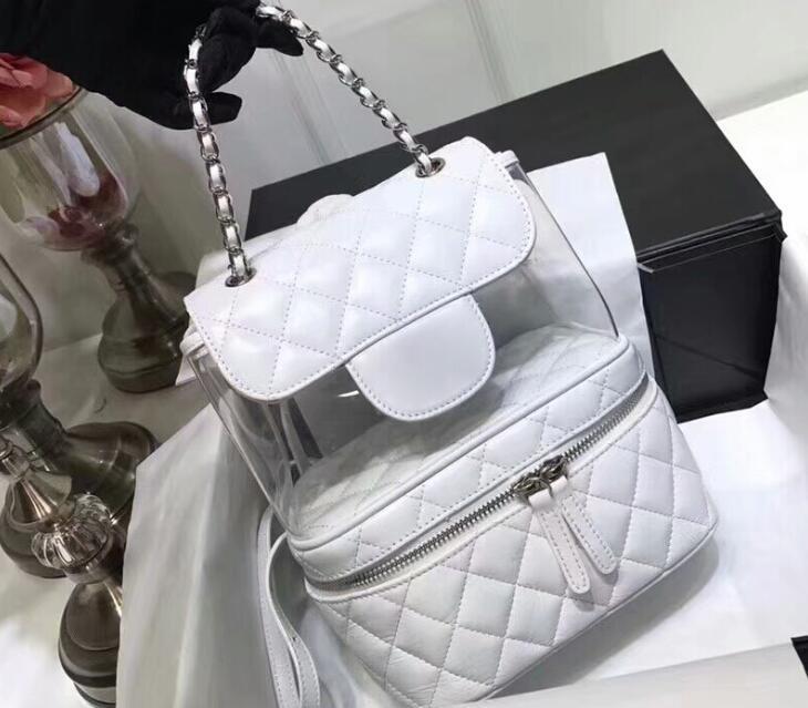 67b2f2e350be A57824 Pink. AAAAA A57824 22cm Crumpled Calfskin PVC Resin&Silver-Tone  Metal Flap Backpack Bag ...