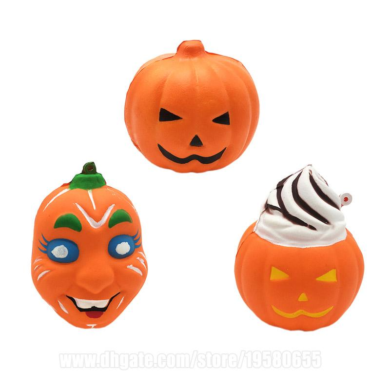 Pumpkin Squishy Halloween Squishies Grimace