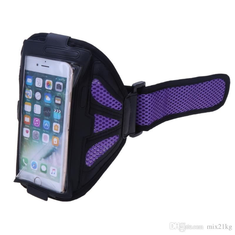 4 Colors Sport Gym Running Bag Arm Band Holder Pounch Belt Waterproof Case For 4.7/5.5inch Mobile Phone Bags Cover Hot Sale