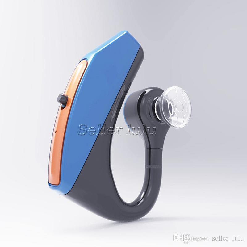 V15 negócio fone de ouvido bluetooth handsfree escritório sem fio bluetooth fones de ouvido fones de ouvido com microfone de controle de voz esportes música earbud