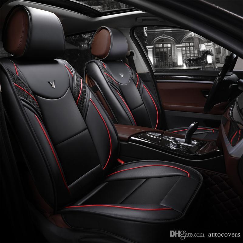 Universal Car Accessori auto Interni coperture sede per berlina full Circondato design durevole PU sedili in pelle copre per SUV