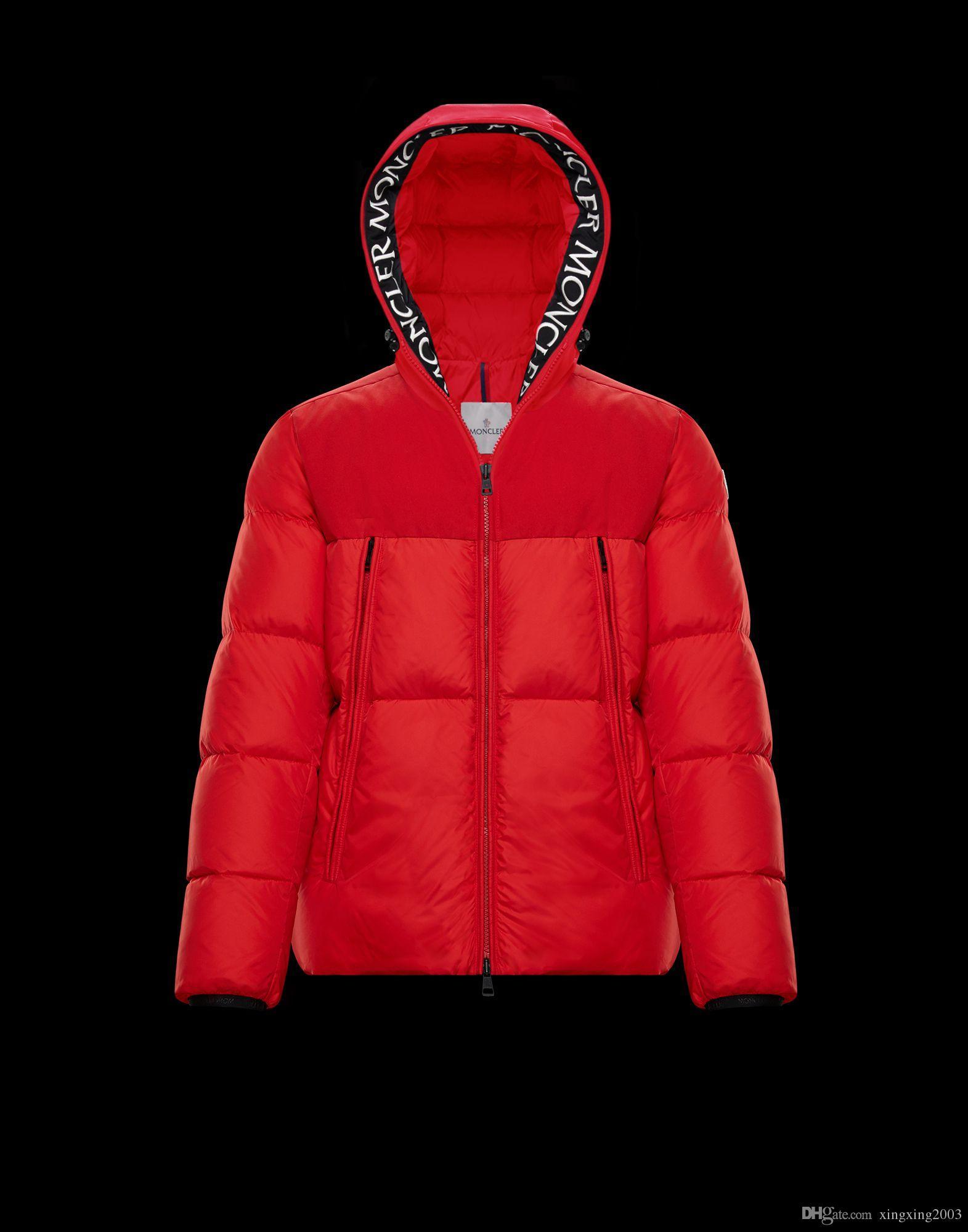 2019 Новое Прибытие! Горячая Марка мужская MONTCLAR куртка парки толстовка черный темно-серый куртка зимнее пальто/куртка с бесплатной доставкой на выходе