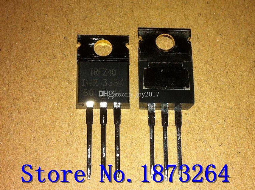 Livraison gratuite IRFZ40 IRFZ40PBF TO220 Nouveau et original 10PCS / LOT
