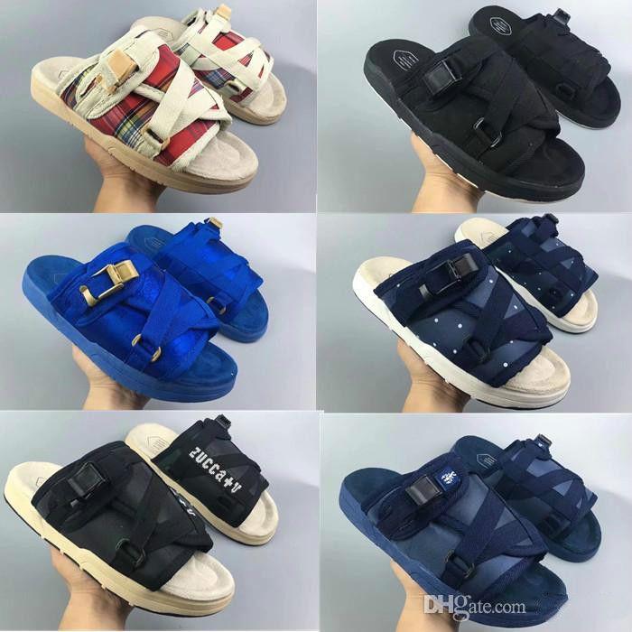 2018 Yaz Sıcak Satış Visvim Adam Ve Kadın Terlik Moda Ayakkabı Severler Rahat Terlik Plaj Sandalet Açık Terlik Hip-Hop Sandalet