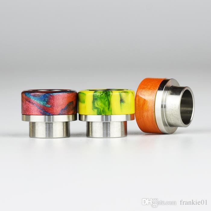 vape electronic cigarettes 528 dry herb vaporizers drip tip wide bore 810 thread vaporizer mouthpiece vape pen drip tip