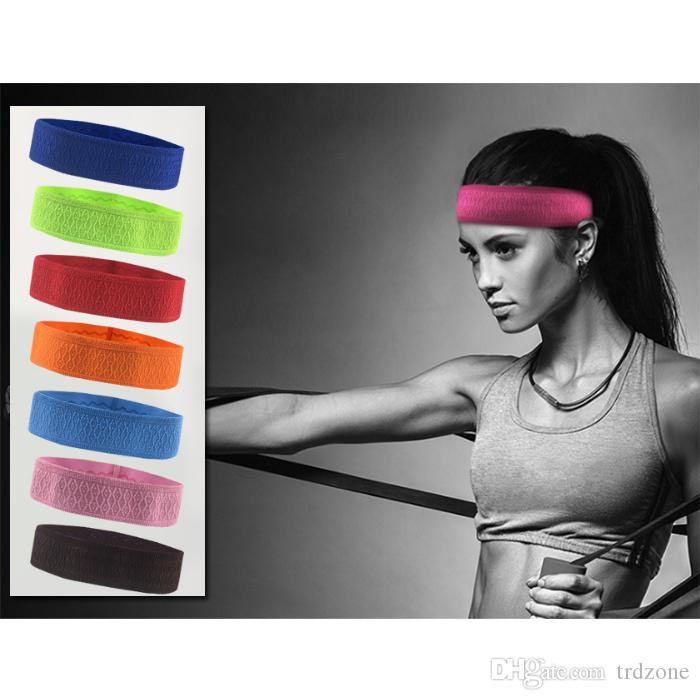 Sports Headbands Non-Slip Sweatband,Elastic Fashion Hair Band for Men&Women. Perfect for Workouts,Yoga,Running,or Casual Wear