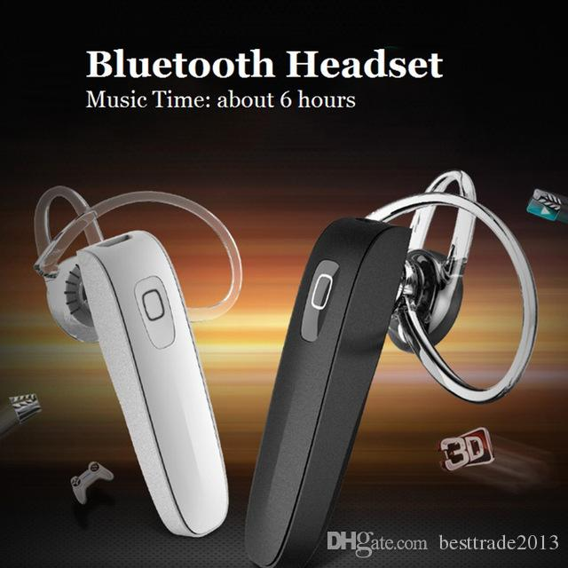 Mini Bluetooth Headset Stereo Wireless Earphone with HD Microphone Handsfree Headphone for iPhone Xiaomi Samsung Mobile Phone