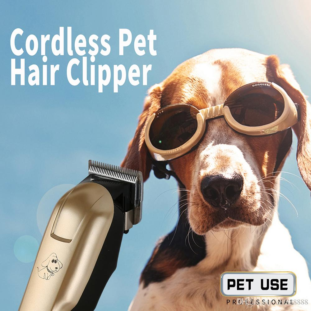 Scissor professionale Dog Pet regolatore dei capelli animali Grooming Clippers Gatto Cutter macchina rasoio elettrico Clipper 110-240V