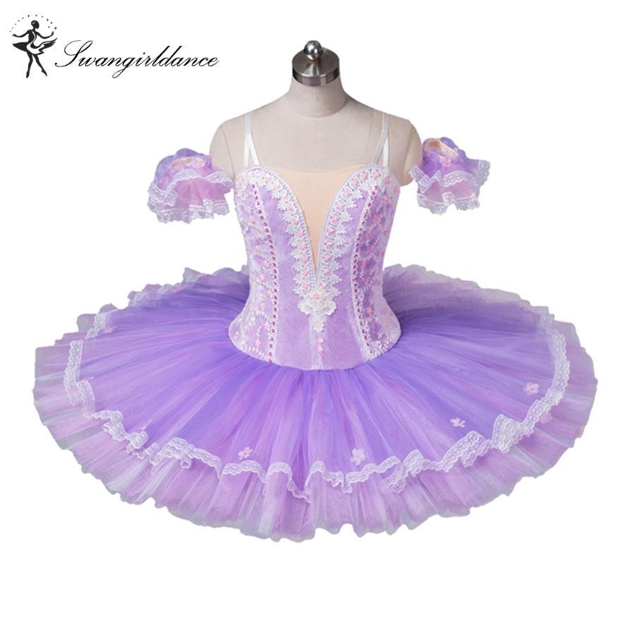 Adulto luz roxo ballet ballet tutu profissional tutu ballet clássico, trajes de balé para venda, traje de dança tutu para womenBT8964C