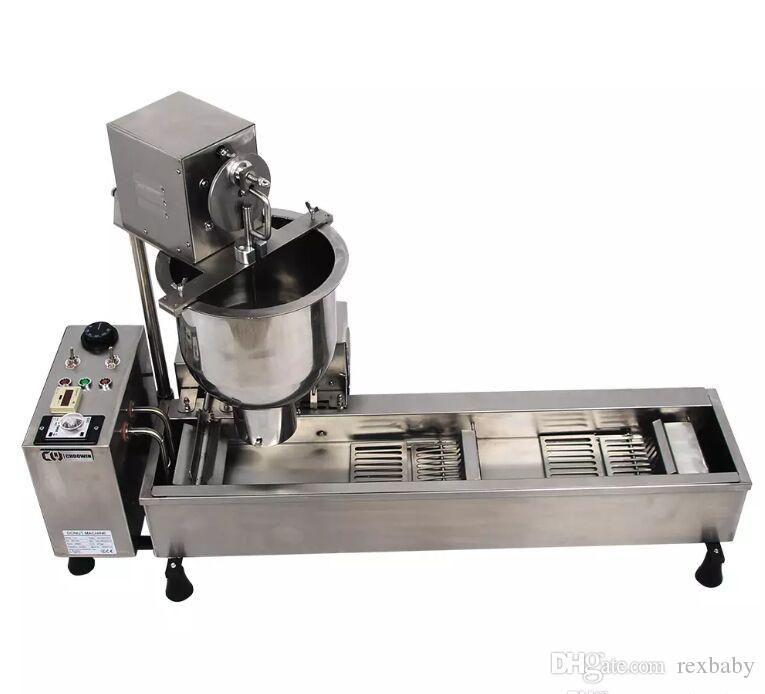 Полностью автоматическая машина пончик 110 В 220 В 3000 Вт из нержавеющей стали пончик чайник пончик решений бесплатная доставка