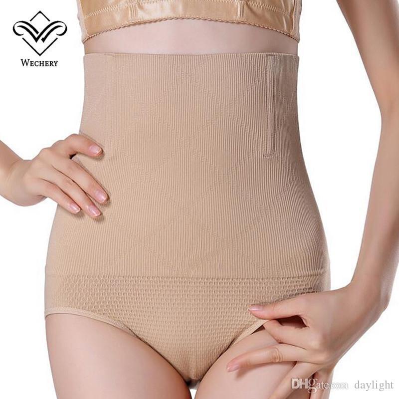 Wechery Sexy Beauty Slimming Pants High Quality Seamless High Waist Women Tummy Control Panties Body Waist Shapers Butt Lifter