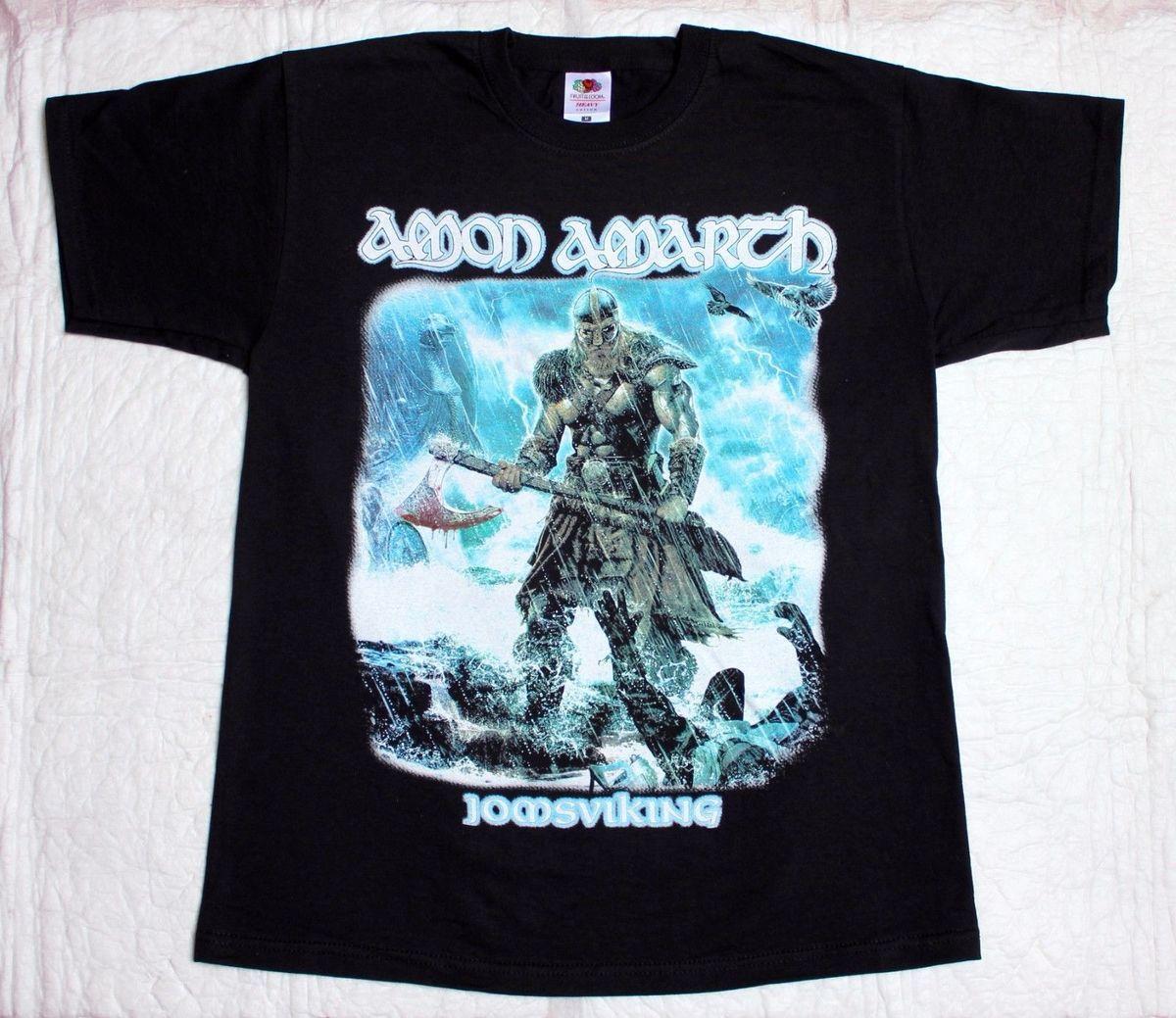 Amon Amarth Jomsviking T-Shirt Manches Courtes Noir