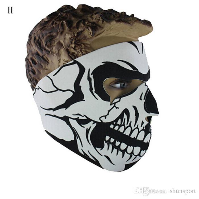 Универсальный неопрена череп полный Маска мотоцикл лыжная сноуборде Балаклава CS Спорт Хэллоуин косплей маски