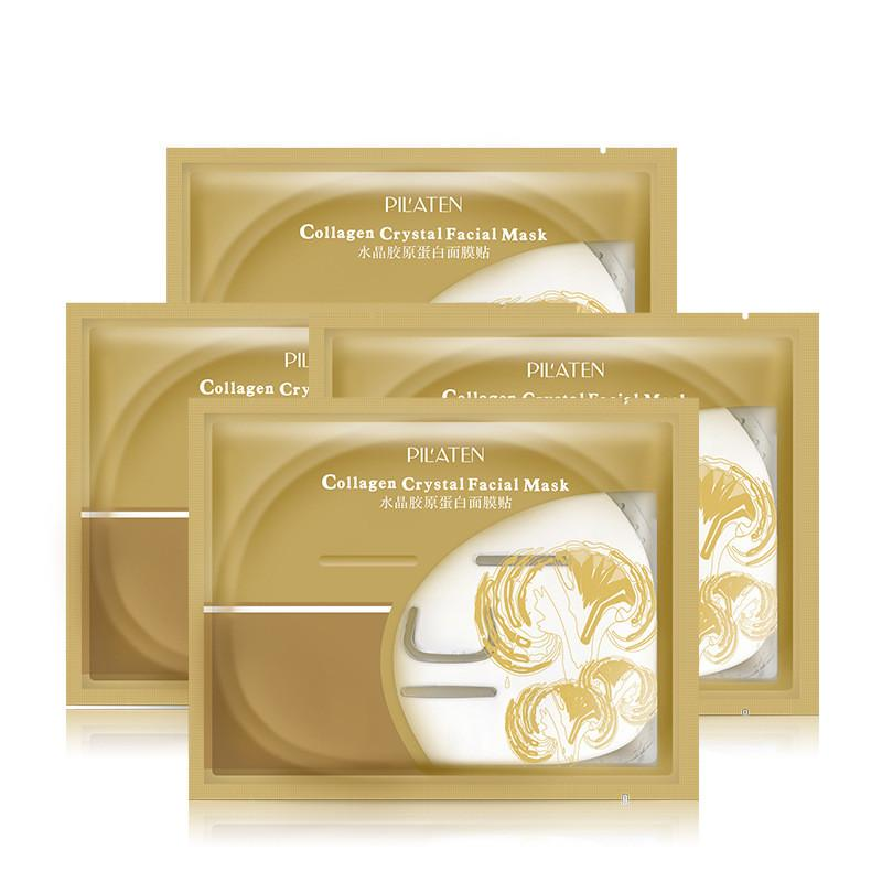 60g Pilaten Collagen Crystal Facial Mask Anti Aging Anti Wrinkle Moisturizing Skin Care Face Masks Cheap On Sale
