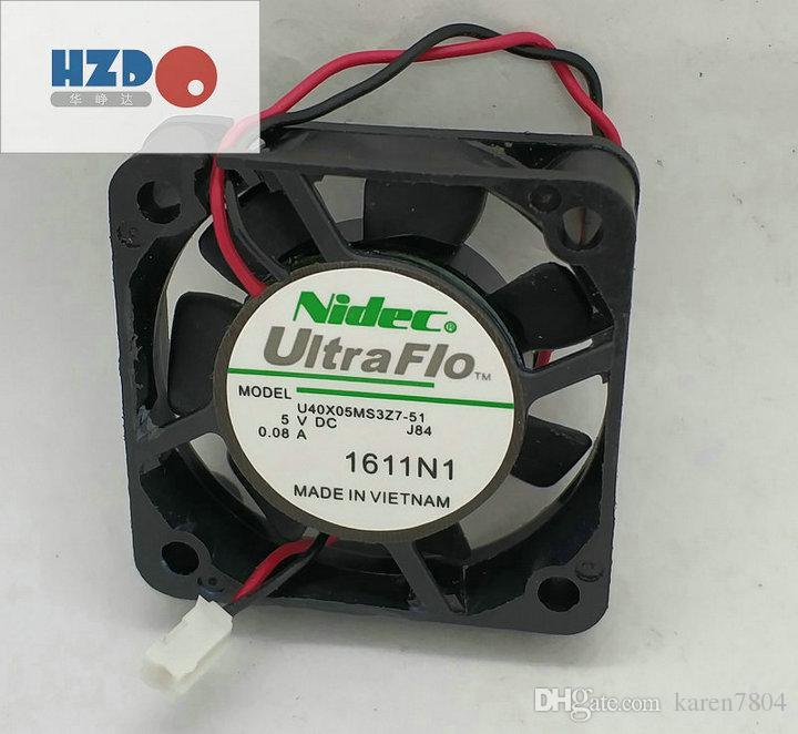 T T 4010H12B NF1 4010 4 CM 12 V 3 draht kleine fan, NIDEC U40X05MS3Z7-51 5 v