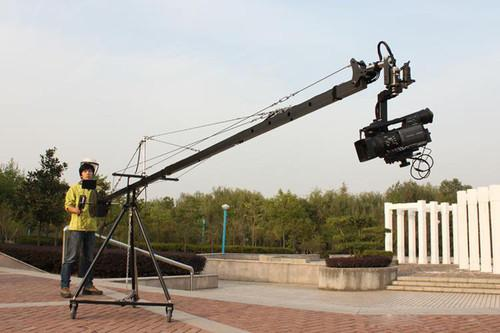 15.8 ft панорамирования наклона головы 5 кило камеры крана стрелы рукоятки стрелы видео 7-дюймовый HDMI монитор комплект