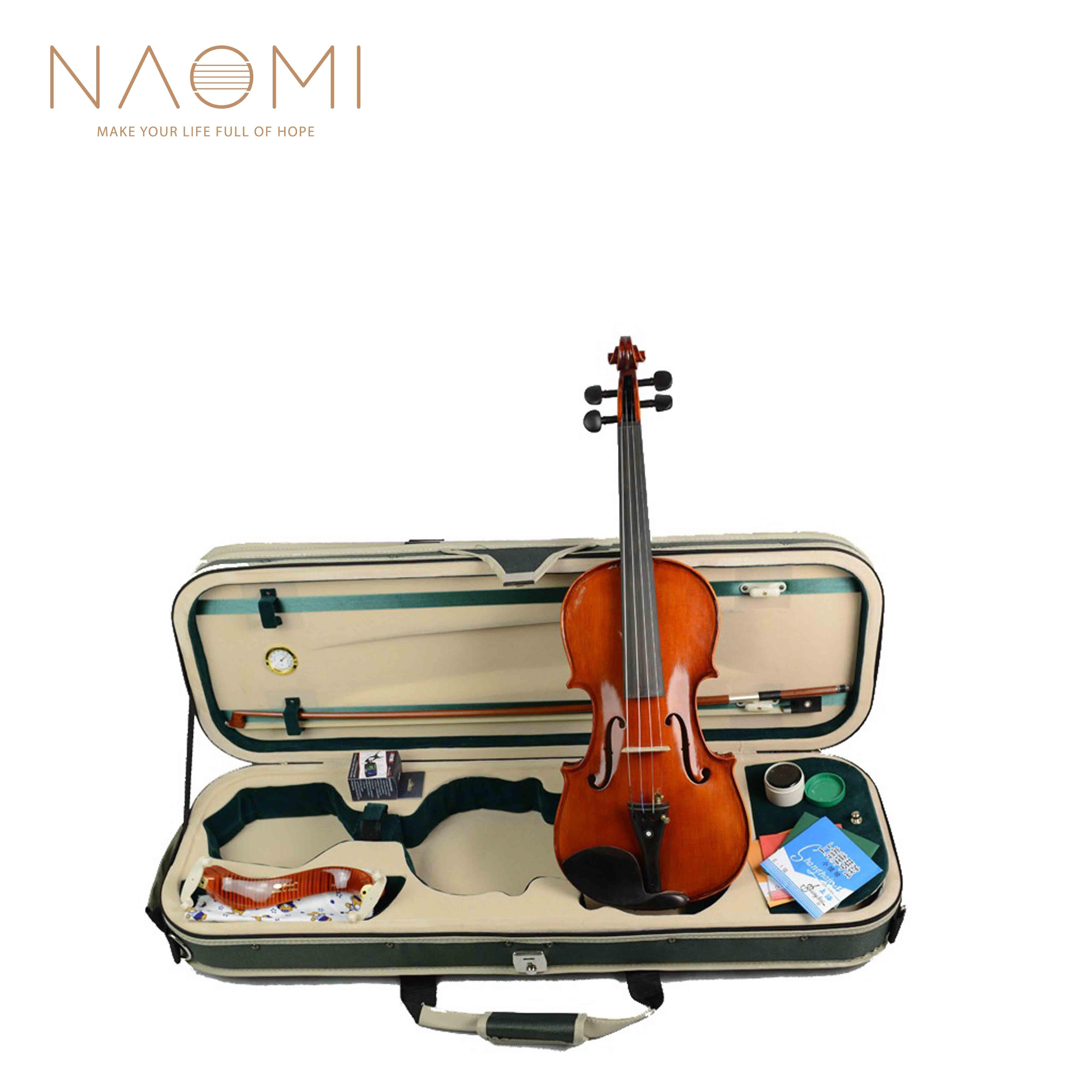 Koffer /& Bogen 1//8 1//4 1//2 3//4 4//4 massive Geige Violine