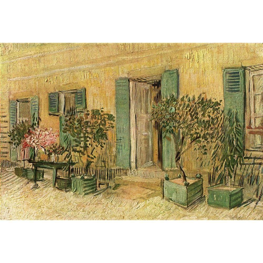 Acquista Vincent Van Gogh Dipinti Di Esterno Di Un Ristorante Ad Asnieres Su Tela A Mano Camera Da Letto Alta Qualita A 85 47 Dal Kixhome Dhgate Com