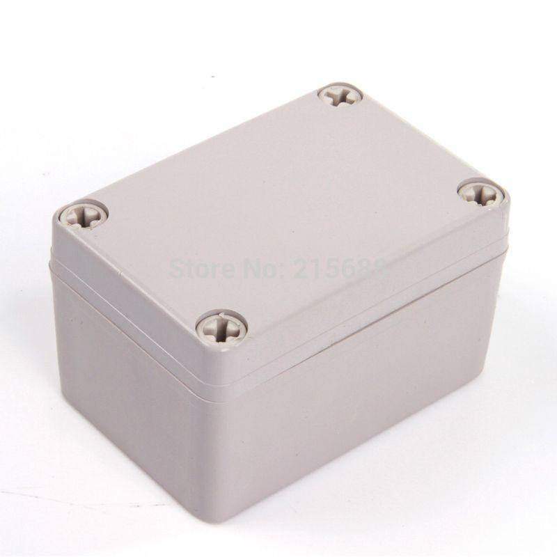 Saip العلبة ABS العلبة ، الضميمة ABS للإلكترونيات DS-AG-0506 ، 50 * 65 * 55MM