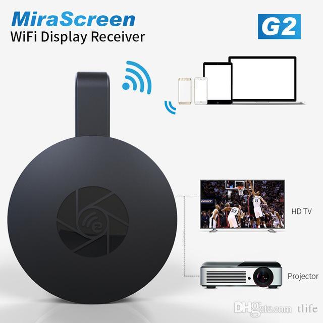 MiraScreen Dongle Sem Fio HDMI Dongle Sem Fio Fogo TV Vara 2.4G Dongle TV HDMI 1080 P Airplay DLNA Reproduzir Google Wifi Display Receptor de TV