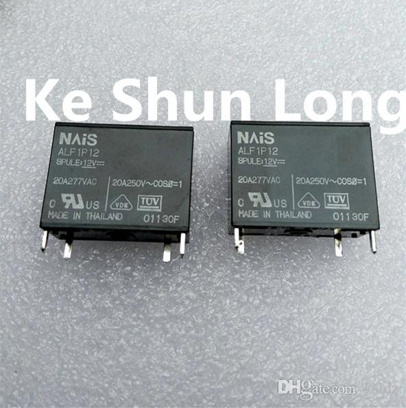 무료 배송 많은 (5 개 / 많은) 100 % 원래 새로운 ALF1P05 ALF1P12 ALF1P18 ALF1P24 4PINS 20A 5VDC 12VDC 18VDC 24VDC 전원 릴레이
